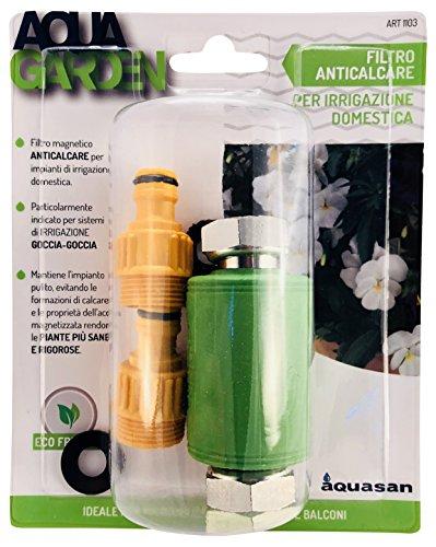 Aquasan 1103 - Filtro magnético antical para microriego, verde