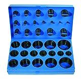 BGS 8045 | O-Ring-Sortiment | 419-tlg. | Ø 3 - 50 mm | säure-, benzin-, hitze und ölbeständig | aus NBR gefertigt | im Koffer