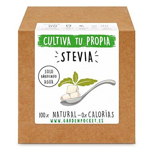 Kit cultivo STEVIA de Garden Pocket