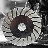 Herramientas de Corte Muela Disco galvanizado Diamante Hoja de Sierra for la Herramienta rotativa Amoladora Angular para amoladoras angulares (Color : A)