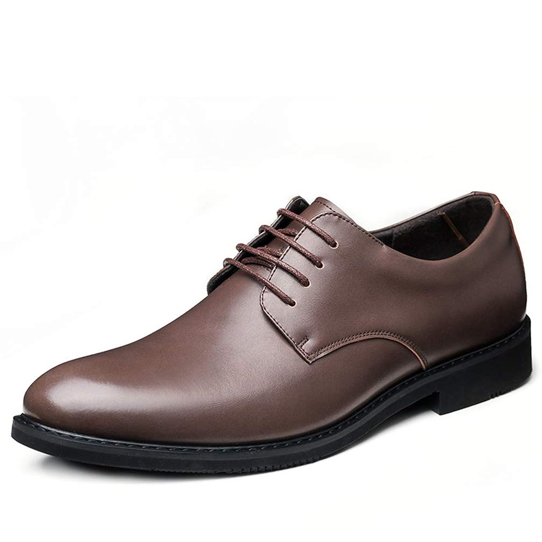 [スンル] ビジネスシューズ メンズ レースアップ 紳士靴 高級 防滑 軽量 通気 快適 抗菌 長持ち 就活 通勤 普段用 ドレスシューズ 黒 ブラック ブラウン 24.0cm-27.0cm