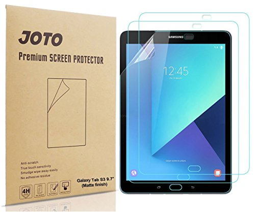 Galaxy Tab S3 9.7 Displayschutzfolie - JOTO Blendung, Anti Fingerabdruck (Matte Finish) Display Schutz für Samsung Galaxy Tab S3 9.7 Tablet,3er Pack