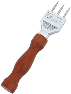 Bar Ice Chisel, Stainless Steel Ice Chisel with Wooden Handle, Ice Chisel Removal Pick Crushed Ice Tool Bar Accessories