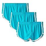 unhg Ropa Interior Transpirable para Hombres Calzoncillos Tipo Bóxer De Malla Ultrafina Suave Troncos De Tiro Bajo,Azul,XXL