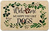 Welcome Mat for Front Door Farmhouse Rustic Decorative Entryway...
