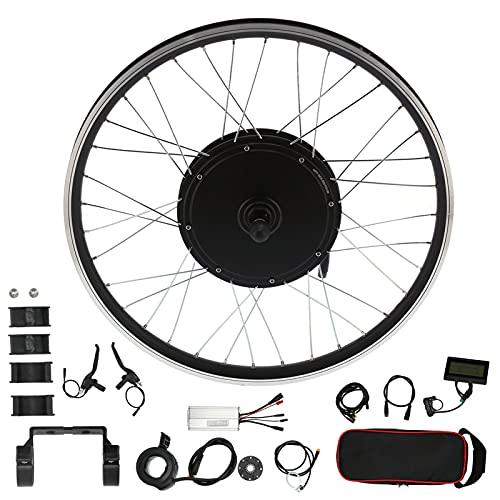Kit de Motor de conversión de Bicicleta eléctrica, Motor de Rueda de Bicicleta eléctrica de 26 Pulgadas, Kit de conversión de 48 V 1000 W con Pantalla KT-LCD3