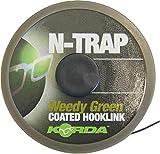 Korda N-Trap Soft 20m Vorfachschnur, Tragkraft:20lbs/9.1kg, Farbe:Weed (Grün)
