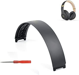 Studio 3 Headband Replacement Arch Plastic Head Band Repair Parts Compatible with Beats Studio 3 Wireless Headphones (Shadow Gray)