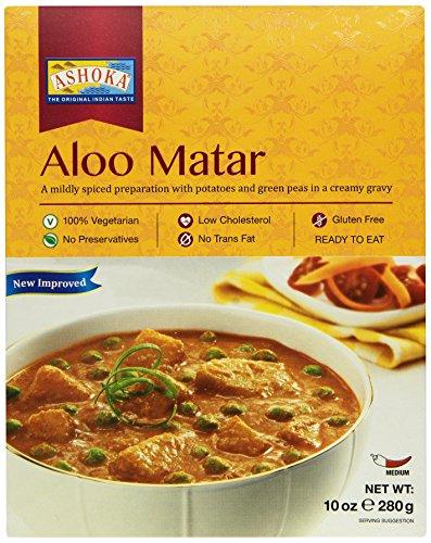 ASHOKA Aloo Matar Fertiggericht, 6er Pack (6 x 280 g)