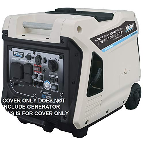 GCD Pulsar 4000 watt Inverter Generator Cover (Black) Cover ONLY