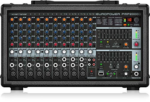 Behringer PMP2000D Europower 2000W Powered Mixer