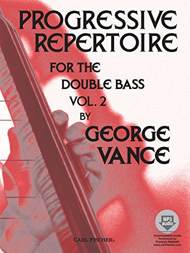 Progressive Repertoire 2 Contrebasse +CD
