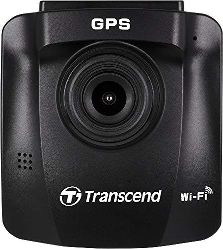 トランセンド DrivePro 230 1080p HD Wi-Fi GPS 車 ダッシュボード ビデオカメラ 吸着カップ付き 16GB microSDカード付属