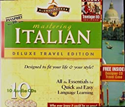 Passport To: Mastering Italian Deluxe Travel Edition (With 1 DVD, 10 CDs in a Convenient Travel CD Case) (2005-05-03)
