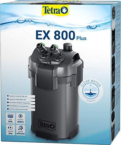 Tetra Aquarium Außenfilter EX Plus - leistungsstarker Filter für Aquarien, schafft kristallklares fischgerechtes Wasser, versch. Größen, Design kann variieren