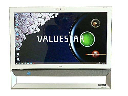 NEC デスクトップパソコン 中古パソコン VS370/R ホワイト デスクトップ 一体型 本体 Windows8.1 Celeron DVD 地デジ/BS/CS 4GB/1TB