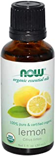 Now Foods Organic Essential Oils Lemon 1 fl oz (30 ml)