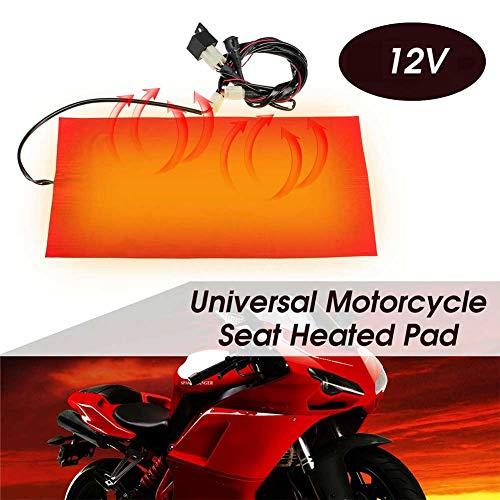 Asiento moto calefactable
