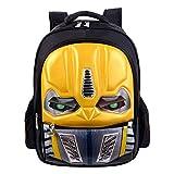 unbrand Niño Mochila para niña Niños Bolsa de Viaje Mochila Impermeable Transformers Impreso en 3D para niños Mochila Escolar Mochila para Acampar Senderismo