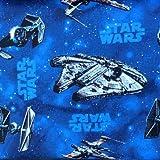 Visage Star-Wars-Stoffe, 100 % Baumwolle, Halbmeterware