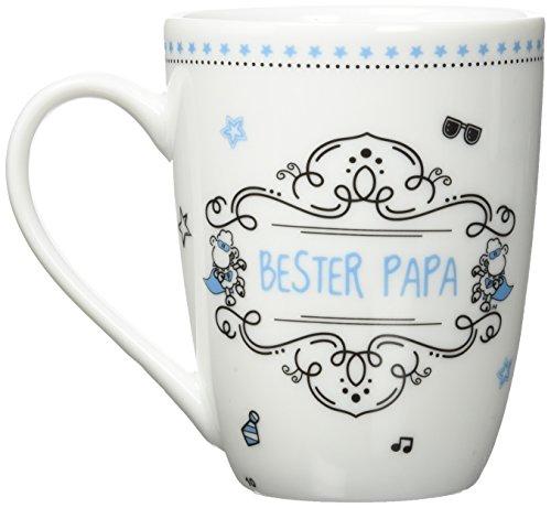 Sheepworld 59266 Lieblingstasse Bester Papa, Kaffee-Tasse, mit Geschenk-Anhänger