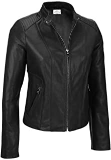 VearFit Wiliums Biker Moto Red, Black, Gray, Tan and Pink Real Leather Jacket - Tailor Made