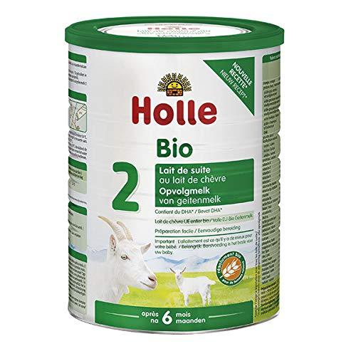 HOLLE - Lait De Suite 2 Au Lait De Chèvre Bio 800G - L'unité