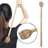 jiamins Rückenkratzer aus Holz, Schaber hinten Traditionelles und Set Massage Entspannend für...