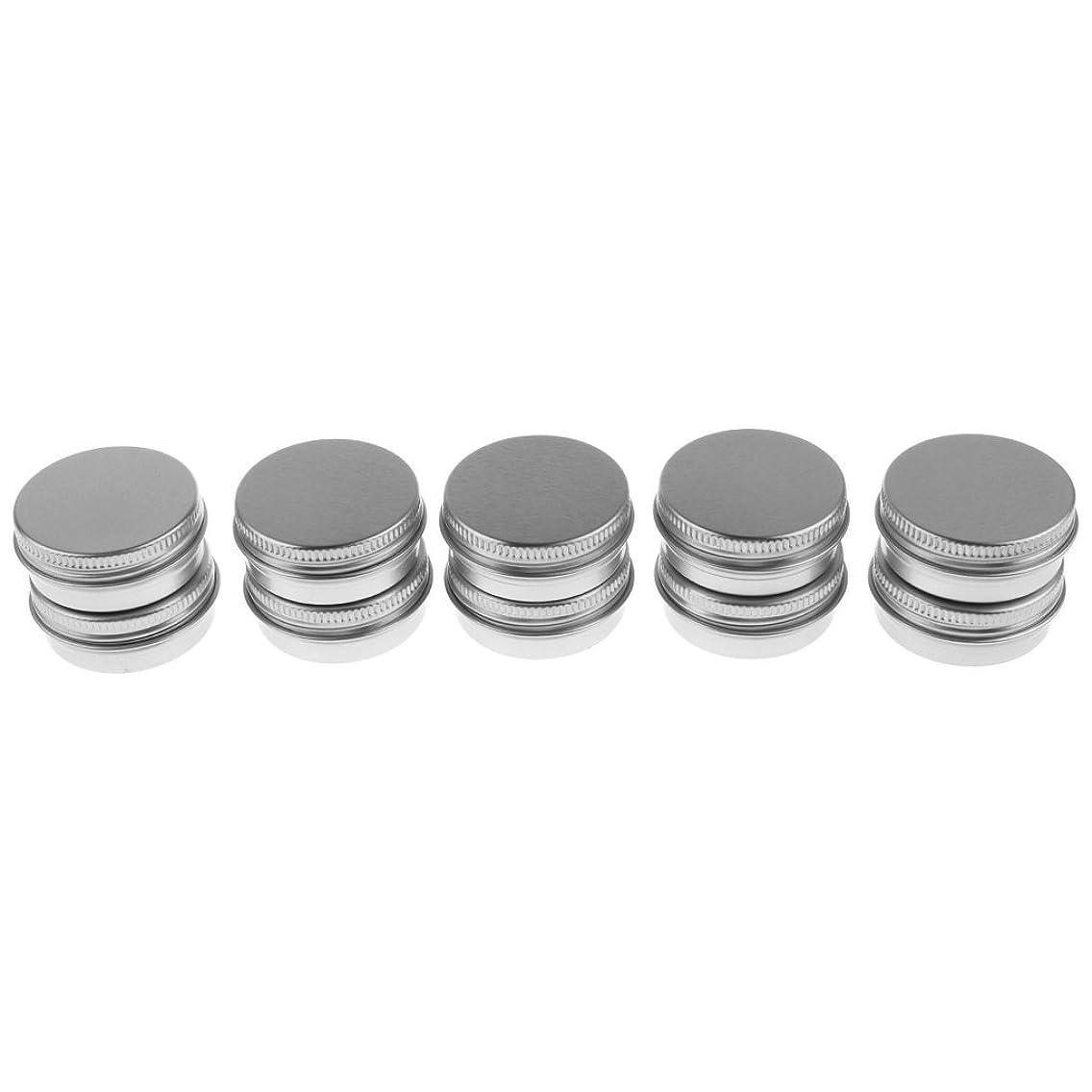 野望流体オートメーションSONONIA 10個 15g 化粧品用 空 瓶 クリーム 缶 容器 缶ケース 蓋付き
