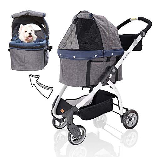 ibiyaya 4 Wheel Pet Stroller