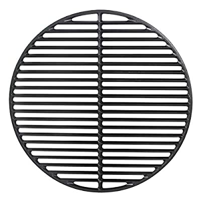 Cast Iron Grid Cooking Grate,Grill & Smoker Cast Iron Grids Round Cooking Grate …