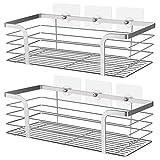 Umi. Essentials Set de 2 estanterías para baño de 2 tamaños, estantes para...