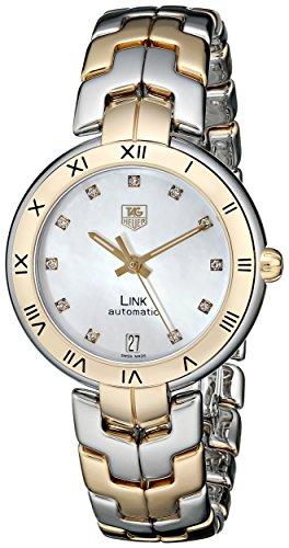 TAG Heuer Link dos tonos reloj de pulsera automático wat2351. BB0957