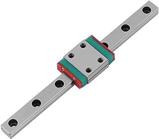 100mm Linear Rail Guide Portable High Precision Miniature Linear Motion Guide with Sliding Rail Block