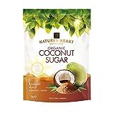 Terrafertil Azúcar orgánico de coco crudo, 1 kg (paquete de 2)