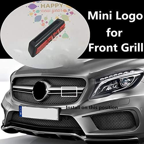 AMG mini Logo voorbumper grille Voor Mercedes-Benz A B C E Klasse W176 W246 W204 W205 W212 W213 GLC X253 GLE W292