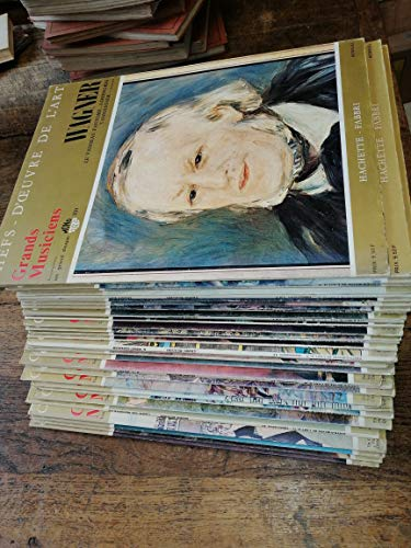Chefs-d'oeuvre de l'Art Grands musiciens lot de 35 disques vinyles 33 tours dans un livret : Wagner, Mozart 5 vinyles ,Berlioz,