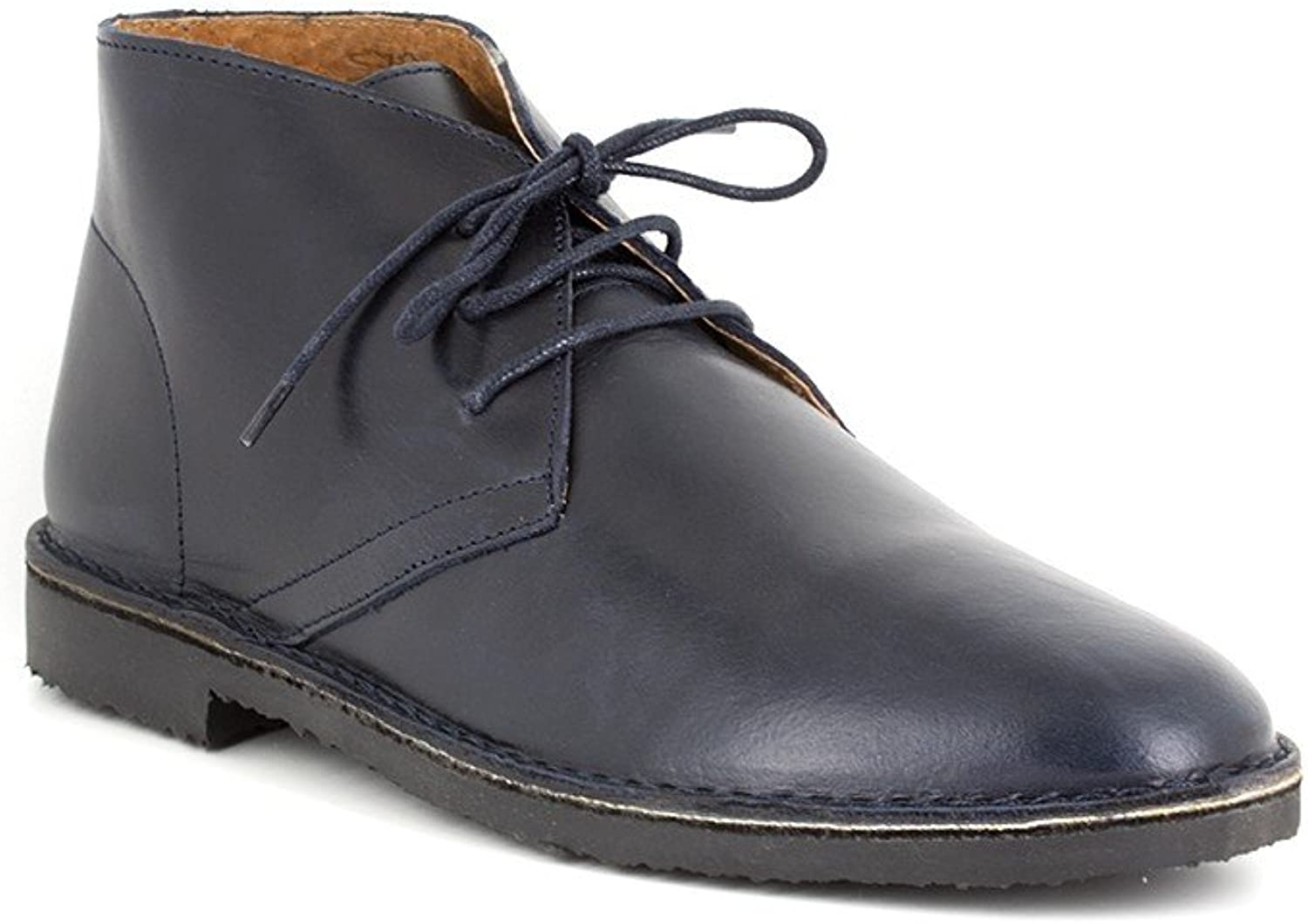 Peter Blade Low Boots Navy bluee Leather PUNDON