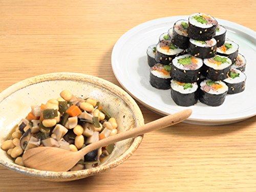 栗原はるみの五目豆 コウケンテツの韓国風のり巻き