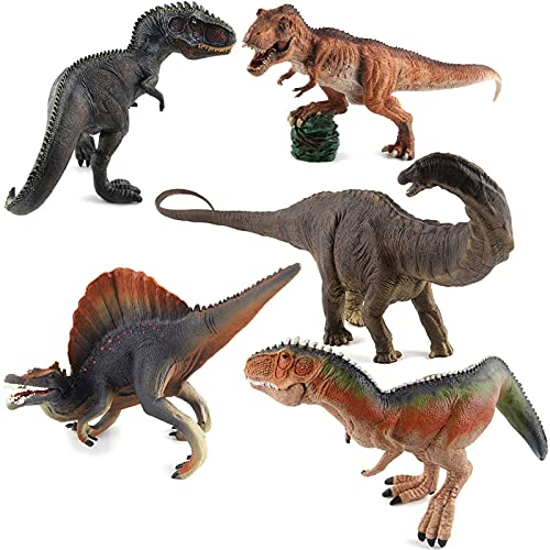 WWYYZ Juguetes Modelo De Dinosaurio Kaiser Dragon Giganotosaurus Spinosaurus Apatosaurus Niño Regalo De Cumpleaños De Navidad