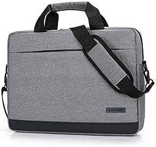 Yuanzengjunfva Laptop Bag Shoulder Bag Briefcase Notebook Bag (Color : Grey, Size : 15.6 inch)