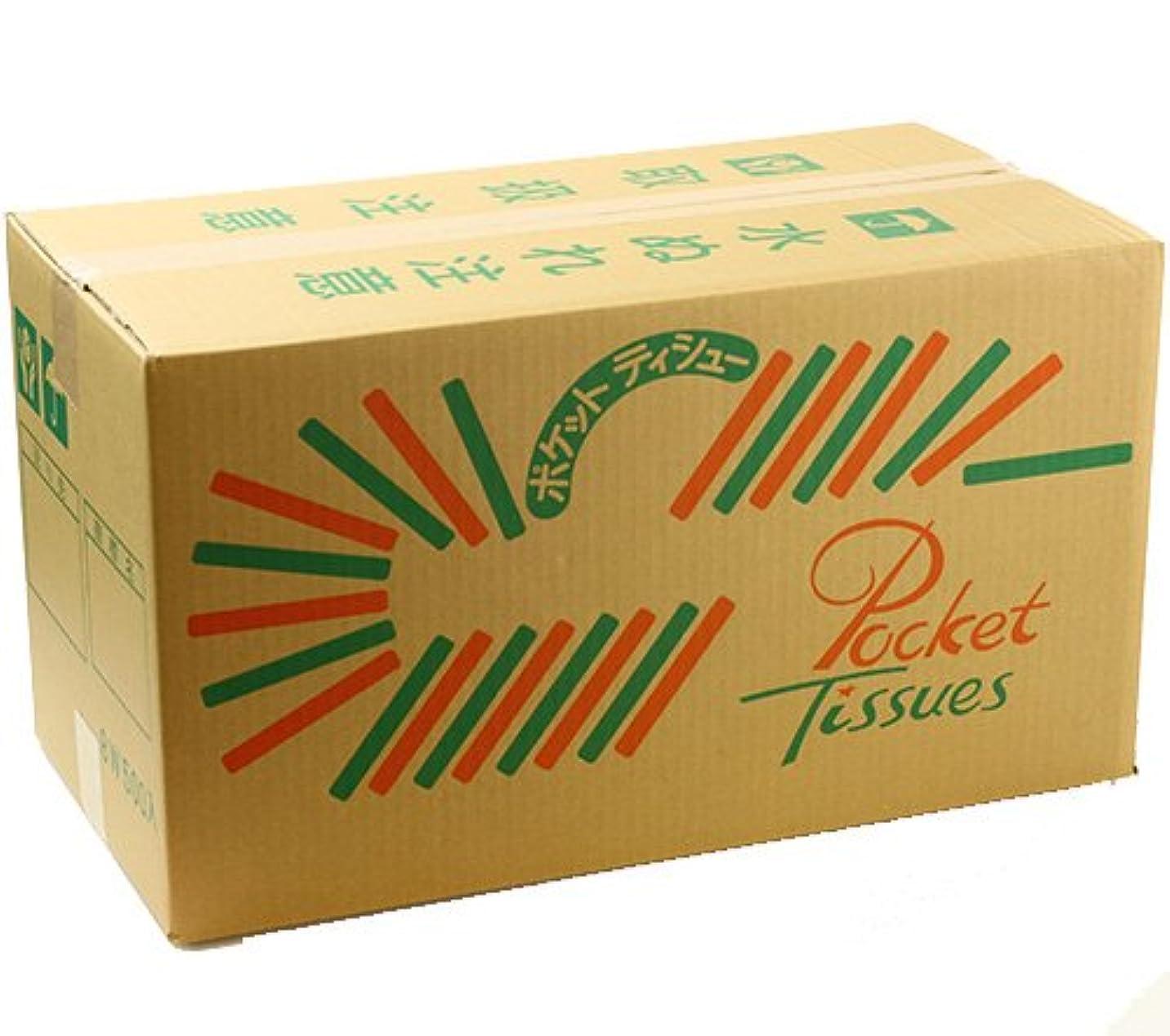 動機反応する害虫業務用 カードポケット付き ポケットティッシュ 8W(無地? レギュラーサイズ)×500個