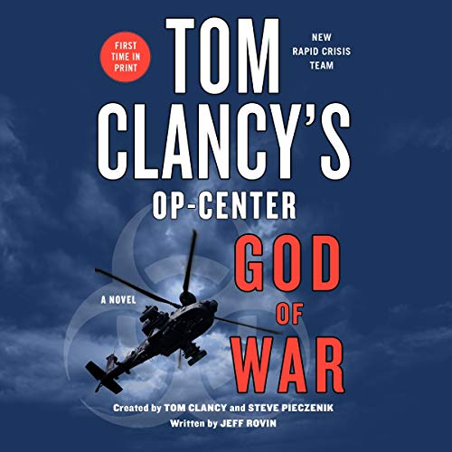 Tom Clancy's Op-Center: God of War audiobook cover art
