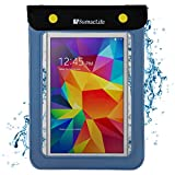 SumacLife Blue Waterproof Stay Dry Tablet Bag Suitable for iRULU eXpro X3 Tablet X37 7 inch Tablet