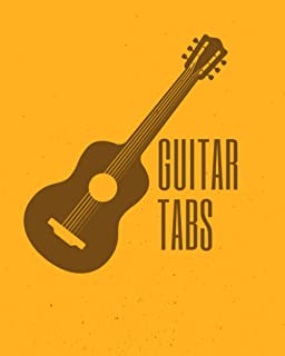 GUITAR TABS: Blank Tablature for Composing Music