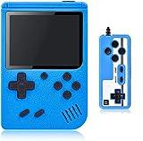 Gamory Console de Jeux rétro, Console de Jeu Portable avec 400 Jeux Classiques pour 2 Joueurs Meuble TV Consoles de Jeu Portables, Jeux électroniques éducatifs Jouez pour Les Enfants Adultes