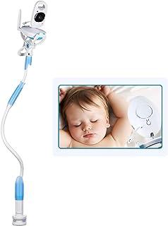 Mallalah Soporte para cámara de video para monitor de bebé soporte universal para monitor de bebé soporte para teléfono móvil estante para monitor de video infantil (azul)