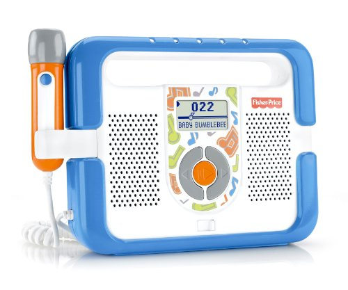Fisher-Price Kid-Tough Music Player with Microphone - Blue