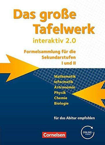 Das große Tafelwerk interaktiv 2.0 - Allgemeine Ausgabe (außer Niedersachsen und Bayern): Das große Tafelwerk interaktiv 2.0 (Das große Tafelwerk ... Ausgabe (außer Niedersachsen und Bayern))
