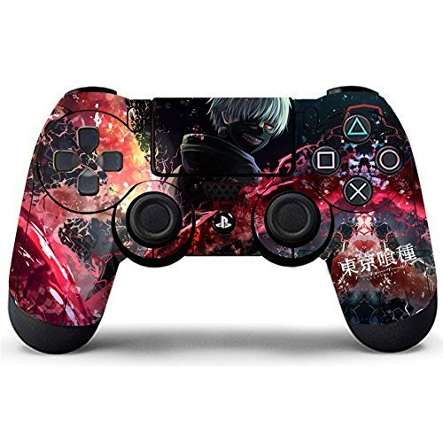 Elton PS4 Controller Designer 3M Skin for Sony PlayStation 4 DualShock Wireless Controller - Anime, Skin for One Controller Only [video game]
